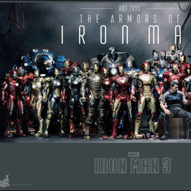 New Items added!) Hot Toys Ironman infinity war, Toys