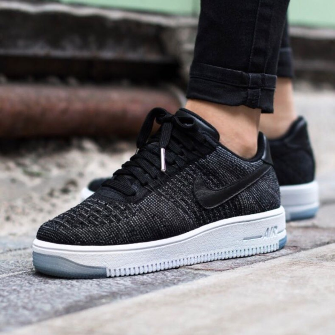 on sale a3eaf 4960b NIKE Air Force 1 Flyknit Low, Women's Fashion, Shoes ...