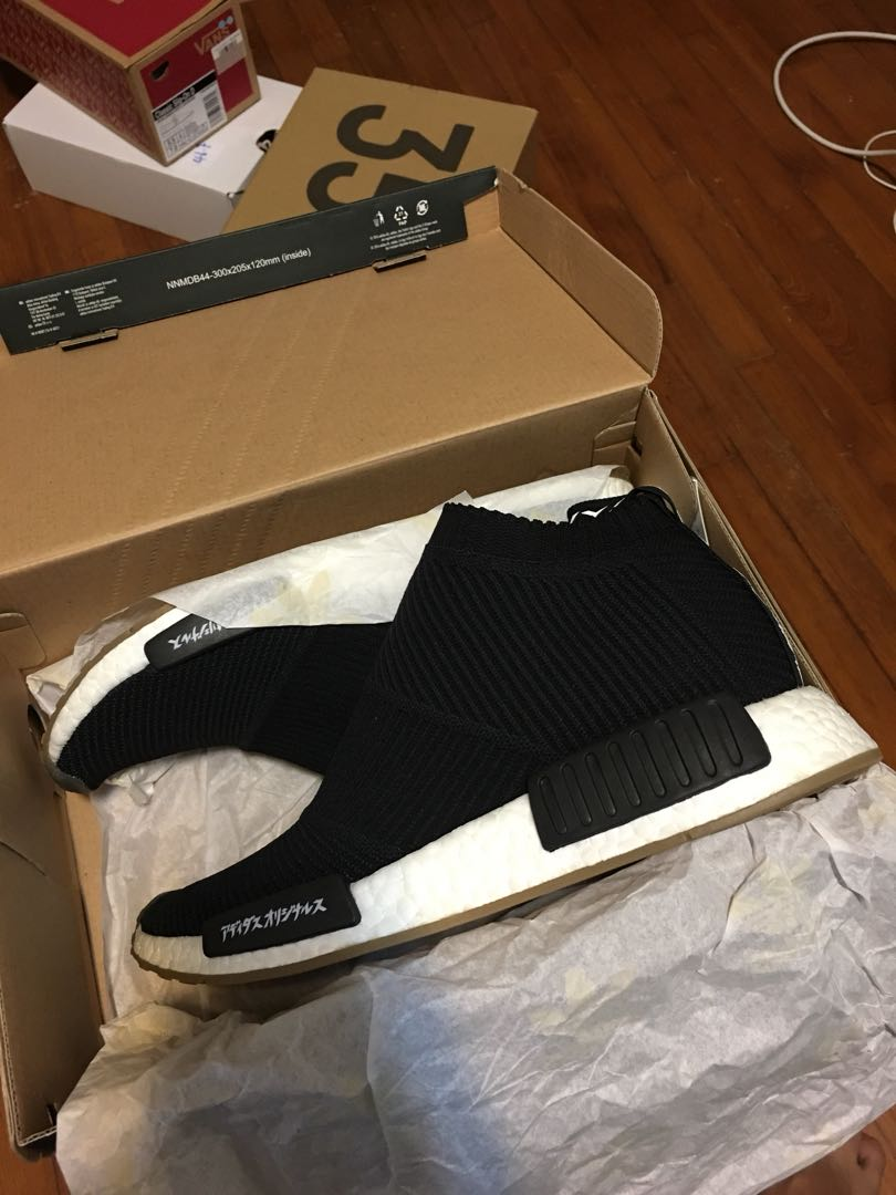 reputable site ef05d b216e NMD City Sock United Arrows MikiType