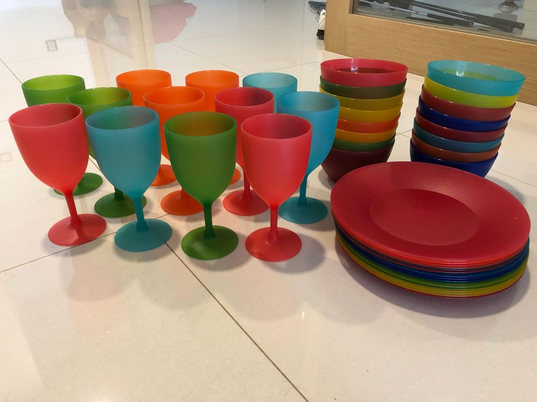Plastic Plates Bowls And Gles Home
