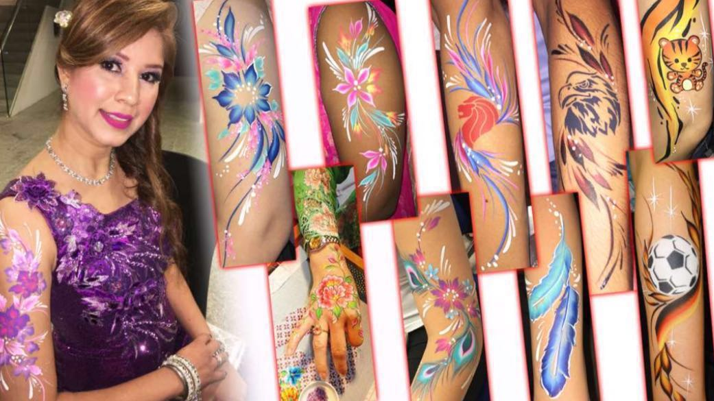 Professional Face Painting Body Art Design Craft Others On Carousell