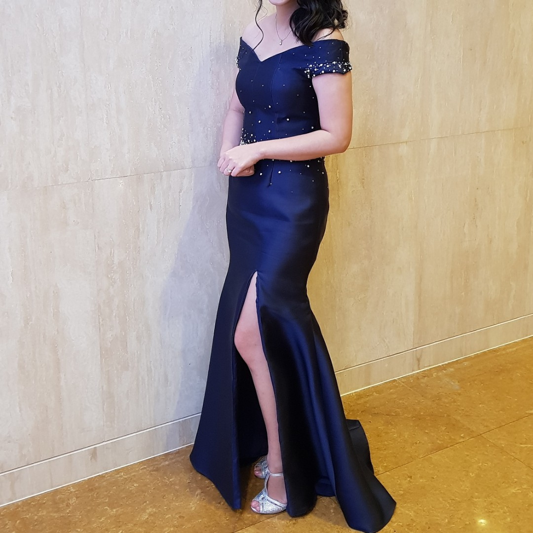 For Sale: Debut / Prom / Formal / Evening Long Gown with Swarovski ...