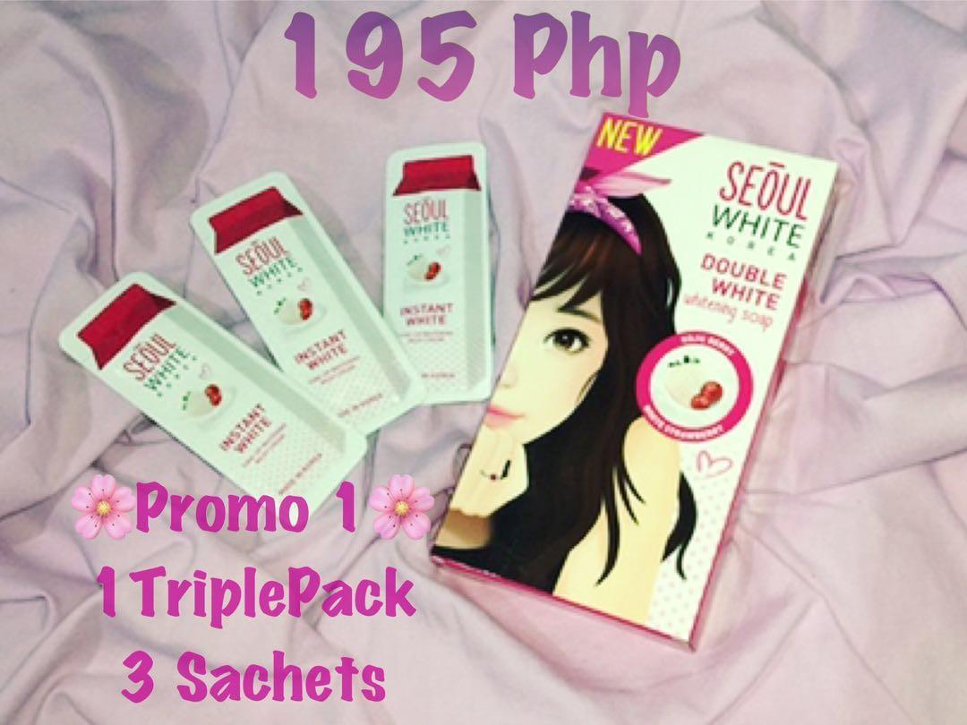 Soap Love Seoul Korea White Double Whitening Discount Promo Health Beauty Skin Bath Body On Carousell