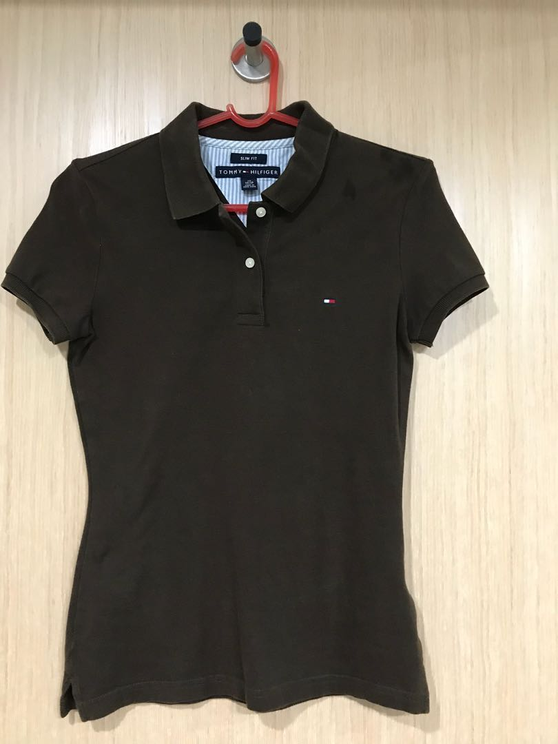 cb8f2150 Tommy Hilfiger Polo Shirt, Women's Fashion, Clothes, Tops on Carousell