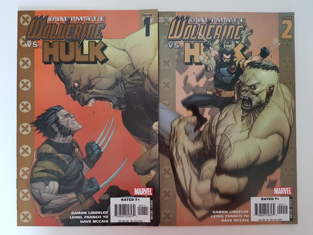 Ultimate Wolverine vs. Hulk issues 1 & 2