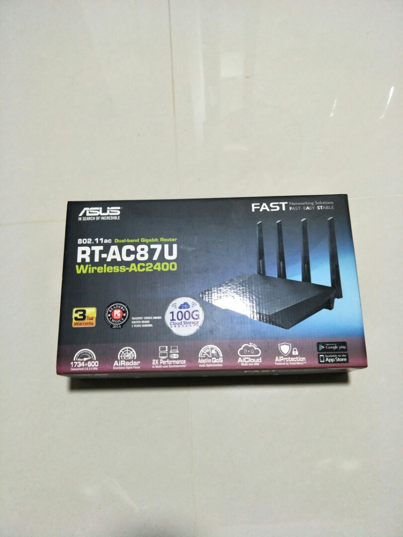 Used Asus RT-AC87U Router