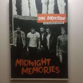 [Preloved] One Direction (1D) Midnight Memories Album