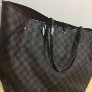 LV Neverfull GM真品authentic