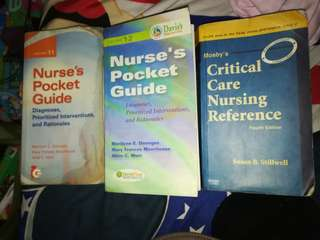 Nurse's Pocket Guide and Critical Care Reference Set