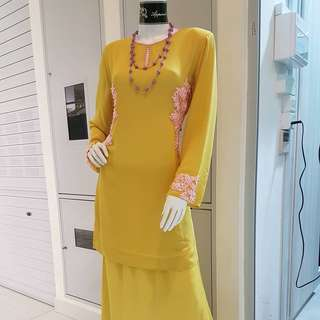 **Clearance Sale** Brand New FQ Lacey Beads Baju Kurung