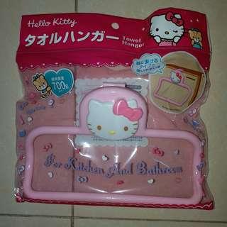Sanrio Hello Kitty 掛架 掛毛巾