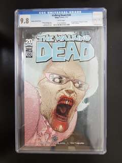 "The Walking Dead #100 Quitely Variant: 1st Negan and ""Lucille"""