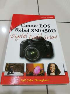 Canon EOS 450D - Digital Field Guide [As good as new]