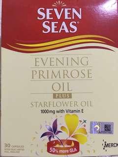 Evening primrose oil plus starflower oil (Seven Seas)