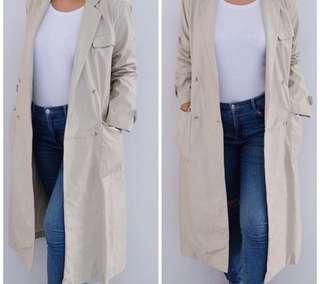 Biege Long Coat