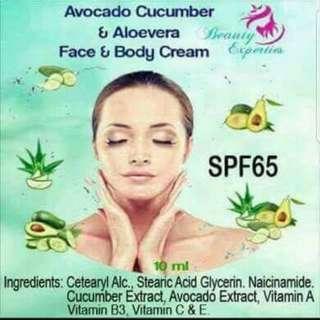 Avocado Cucumber & Aloe Vera Cream