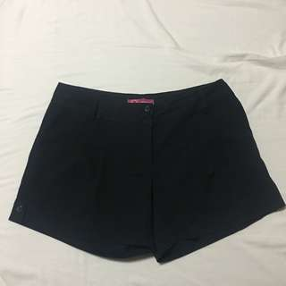 Ladies Circle Dark Blue Shorts XL
