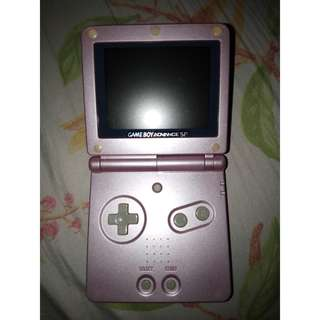 SALE! DEFECTIVE Gameboy Advance SP Brighter Edition w/ Preloaded Games
