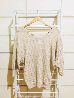 Nude Knitted Sweater