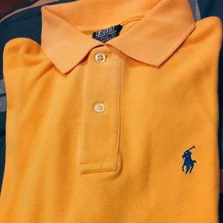Authentic Ralph Lauren Classic Yellow Orange Shirt