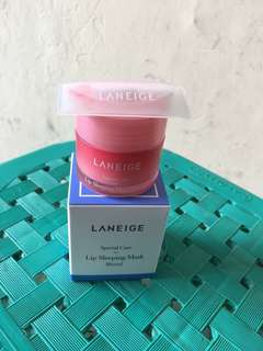 Laneige lip sleeping