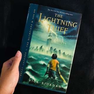 Percy Jackson - Lightning Thief (Hardcover)