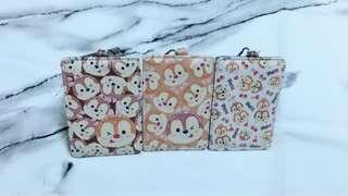 🚚 迪士尼TSUM TSUM 系列-奇奇蒂蒂 票卡夾 行李吊牌