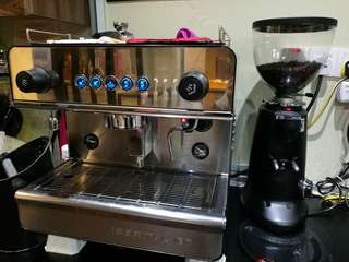 Espresso Machine+Coffee Grinder+Water filter