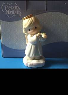 Precious Moments August Figurine