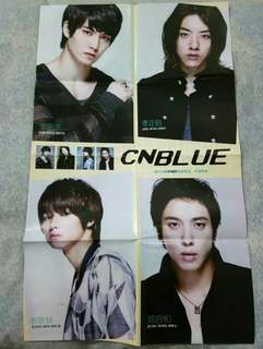 CNBLUE folded poster