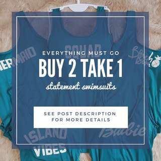 Buy 2 Take 1 FREE Statement Swimsuits