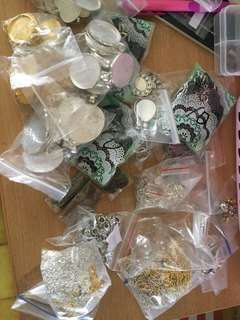 Grab Bag of Assorted Jewellery Findings