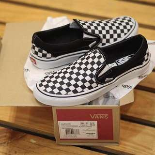 Vans Slip On Checkerboard & Classic