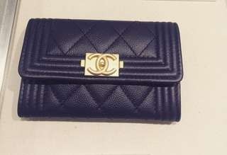 Chanel Le Boy Card Wallet