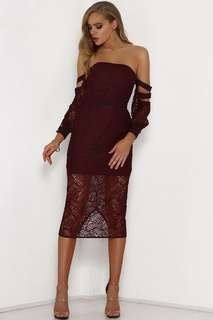 PETITE RANGE Runaway the Label Samira dress
