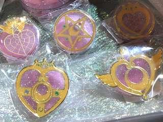美少女戰士 文具夾套裝sailor moon clips set