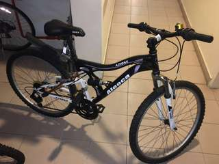 "24"" Aleoca Azione dual shocker mountain bike - MTB"