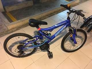 ALEOCA 20″ Padella Children Bike with Shimano fittings