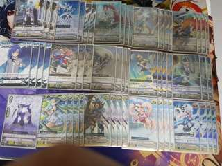 Vanguard royal paladin deck with spare