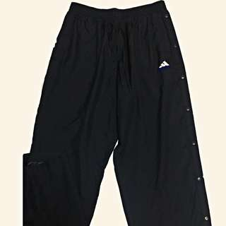 Adidas tear away track pants