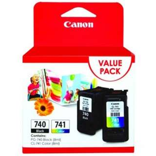 Canon PG-740 CL-741 Value Pack Ink Cartridge