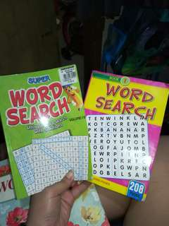 (2) Word Search Books
