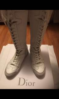 Christian Dior D - Fence High Top Sneakers