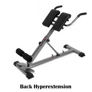 Back HyperStation for home gym equipment