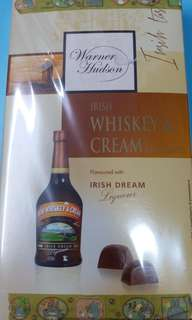 Warner Hudson Irish Whiskey & Cream Chocolates