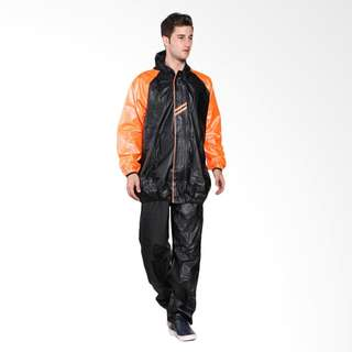 Jas Hujan Mezzo Big Size / Jumbo Edition  Orange