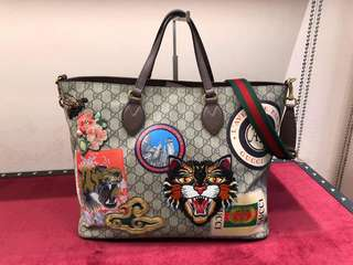 Gucci Courrier Supreme Tote