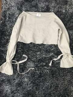 Artizia Wilfred cropped sweater -Baylen