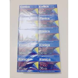 過期底片 : 135 expired film Konica Chrome R-100 (10捲)