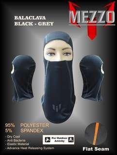 Masker Wajah / Cover Wajah Balaclava Mezzo Grey